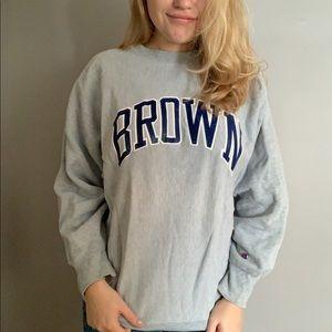 Vintage Champion Brown Sweatshirt